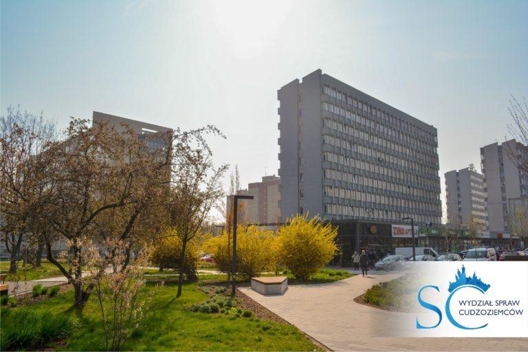 Budynek Wydziału Spraw Obywatelskich