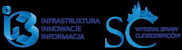 Logo i3 i wydziału spraw cudzoziemców